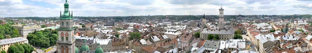 Lviv photos. Panorama of Lviv